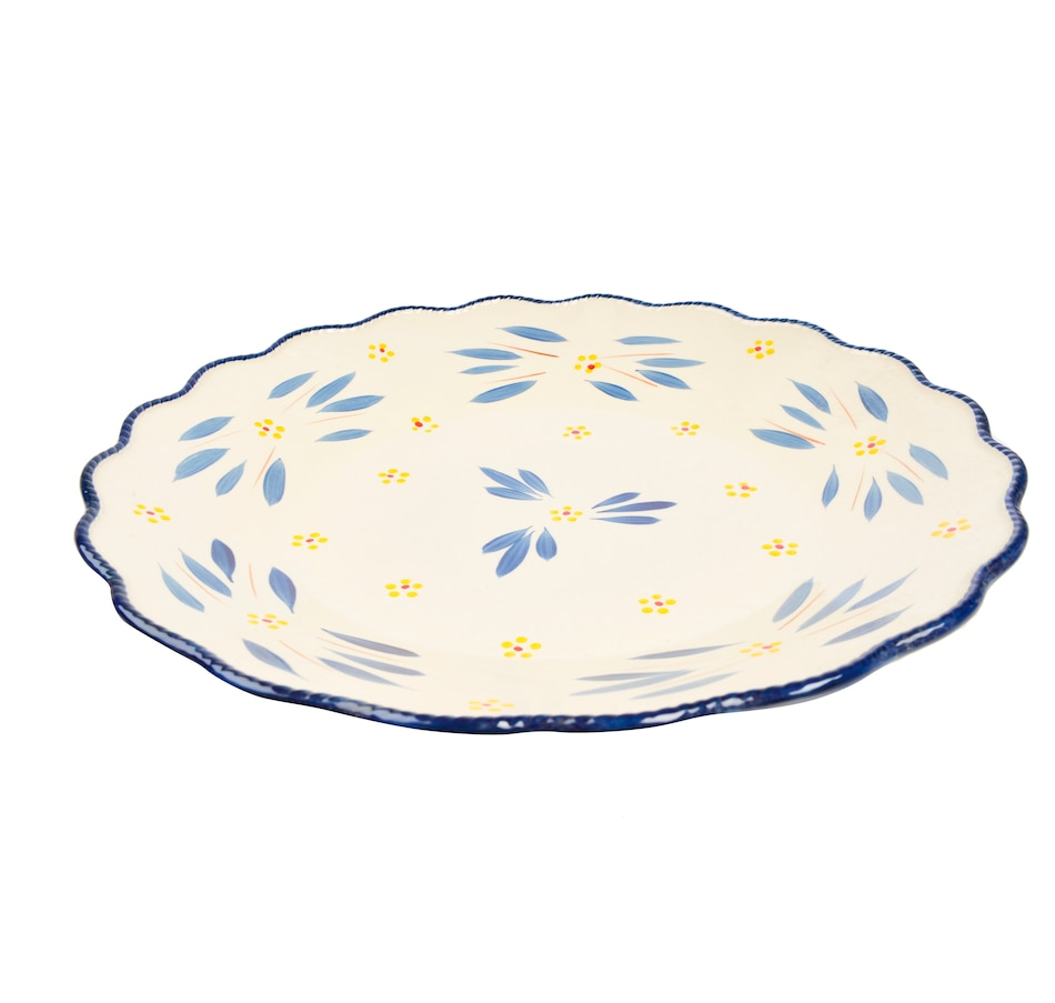 Image 553321_OWBLU.jpg , Product 553-321 / Price $46.99 , temp-tations Elevated Platter from temp-tations on TSC.ca's Kitchen department