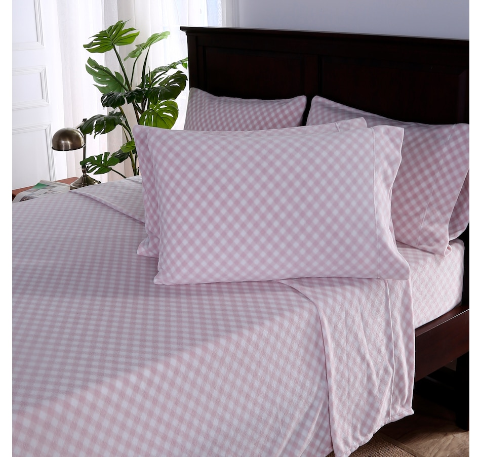 Image 553354_PLD.jpg , Product 553-354 / Price $29.33 , Berkshire Home and Blanket Co. Polarfleece Sheet Set with Bonus Pillowcase from Berkshire on TSC.ca's Home & Garden department