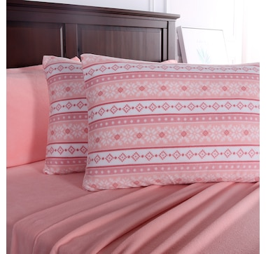 Berkshire Blanket and Home Co. - Polarfleece Sheet Set with Bonus Pillowcase