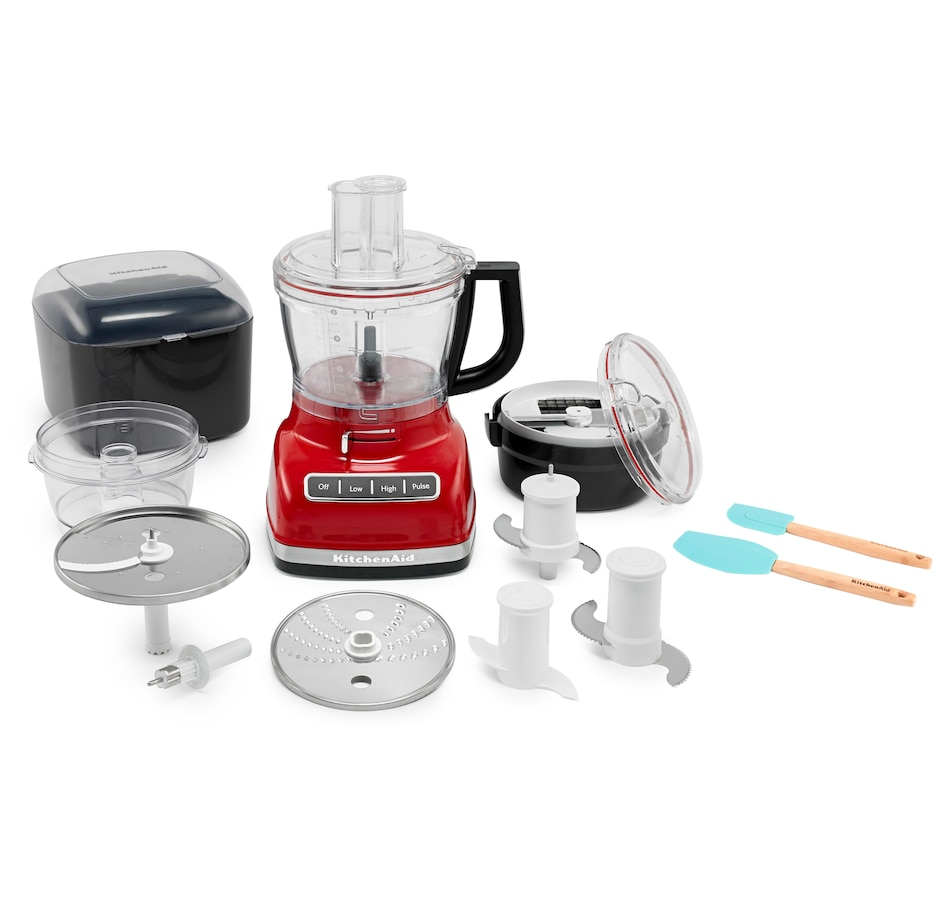 Image 553440_EMRD.jpg , Product 553-440 / Price $399.99 , KitchenAid 14-Cup Food Processor with Commercial-Style Dicing Kit from KitchenAid on TSC.ca's Kitchen department