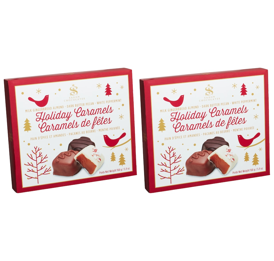 Image 553573.jpg , Product 553-573 / Price $29.33 , Saxon Chocolates Holiday Caramels - Set of 2 from Saxon Chocolates on TSC.ca's Kitchen department