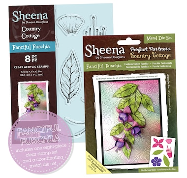 Crafter's Companion Sheena Perfect Partners Dies and Stamp Set