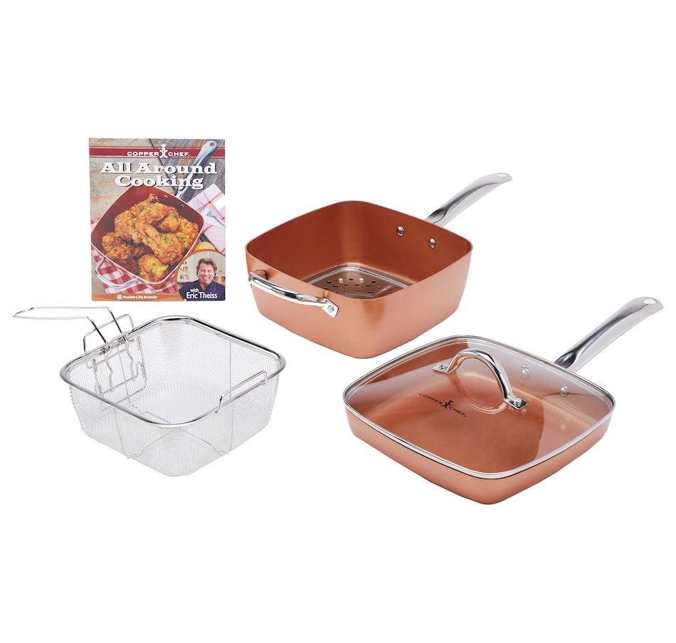 Image 553684.jpg , Product 553-684 / Price $79.99 , Copper Chef 6-Piece Cookware Set from Copper Chef on TSC.ca's Kitchen department