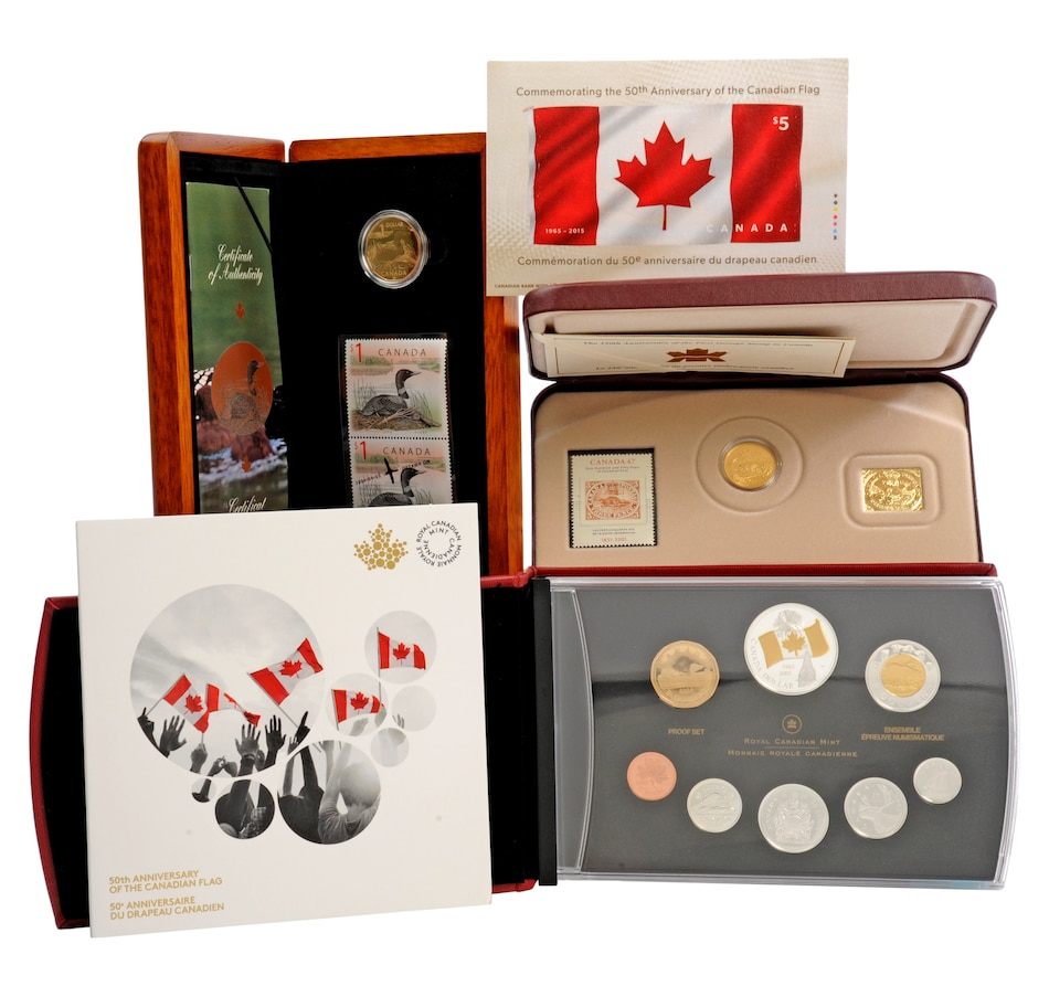 Image 553687.jpg , Product 553-687 / Price $299.95 , Let's Celebrate Canada Collection from Royal Canadian Mint on TSC.ca's Coin department