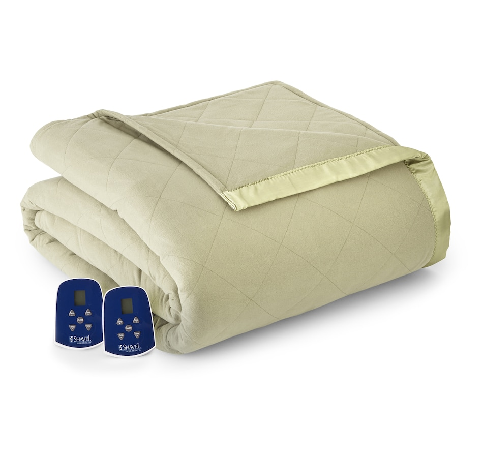 Image 553697_MEDO.jpg , Product 553-697 / Price $184.99 - $286.99 , HomeSuite Micro Flannel Heated Electric Blanket/Comforter from HomeSuite Collection on TSC.ca's Home & Garden department