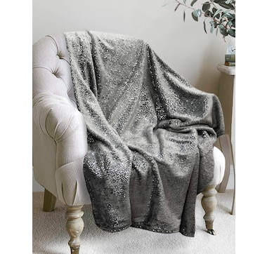 Lauren Holly Sparkling Foil Throw