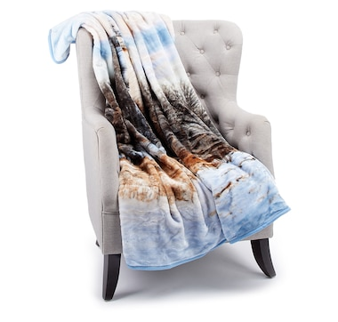 Shavel Home High Pile Holiday Throw