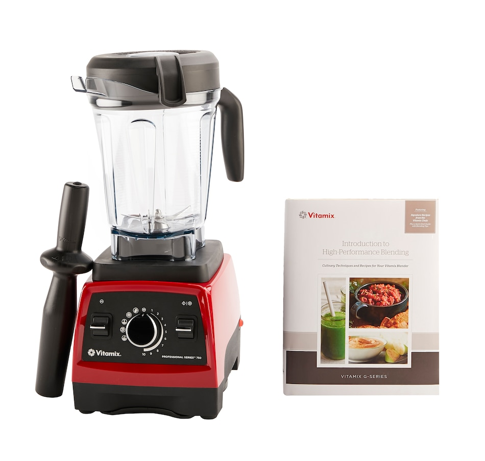 Image 554019_RED.jpg , Product 554-019 / Price $649.95 , Vitamix Professional Series 750 from Vitamix on TSC.ca's Kitchen department
