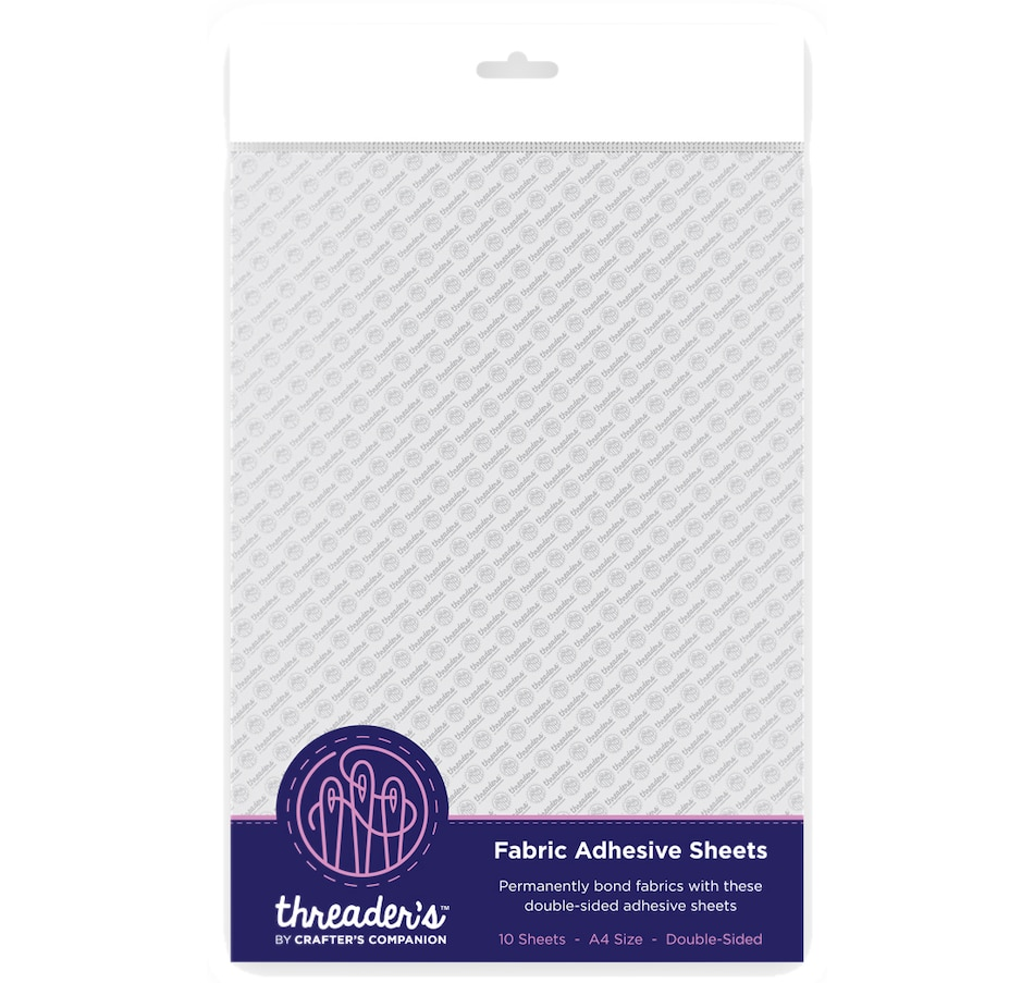 Image 554082.jpg , Product 554-082 / Price $11.88 , Crafter's Companion Threaders Fabric Adhesive Sheets from Crafter's Companion on TSC.ca's Home & Garden department