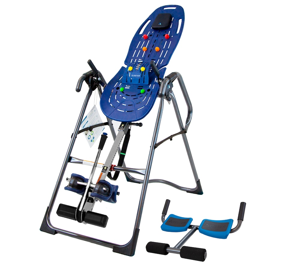 Image 554084.jpg , Product 554-084 / Price $579.99 , Teeter Inversion Table Bundle with P2 Back Stretcher from Teeter on TSC.ca's Health & Fitness department