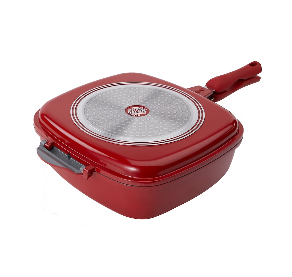 Image 554173_RED.jpg , Product 554-173 / Price $19.33 , Diamond Flip Universal Pan from Diamond Flip on TSC.ca's Kitchen department