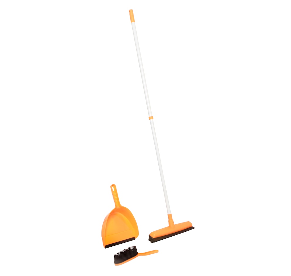 Image 554190.jpg , Product 554-190 / Price $19.33 , 3-Piece Rubber Broom Set from Spectrum Cleaning on TSC.ca's Home & Garden department