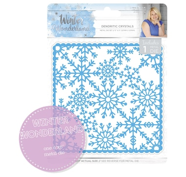 Crafter's Companion Sara's Signature Winter Wonderland Metal Die: Dendritic Crystals