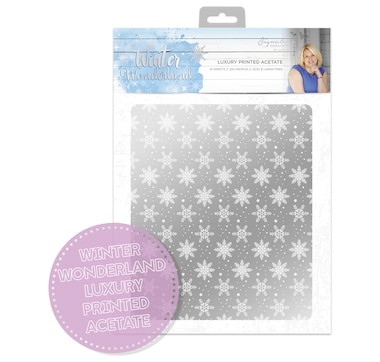 Crafter's Companion Winter Wonderland Acetate Paper Pad
