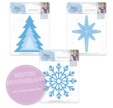 Crafter's Companion Sara's Signature Winter Wonderland Die Set