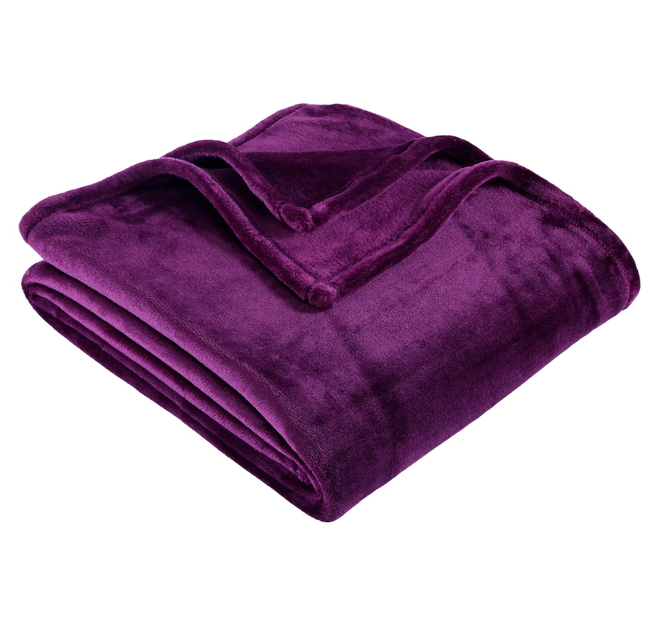 Image 554329_PUR.jpg , Product 554-329 / Price $16.33 , Berkshire Blanket and Home Co. Velvet Soft Throw from Berkshire on TSC.ca's Home & Garden department