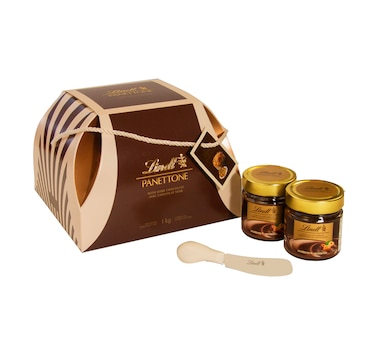 Lindt Limited Edition Panettone and Spread Gift