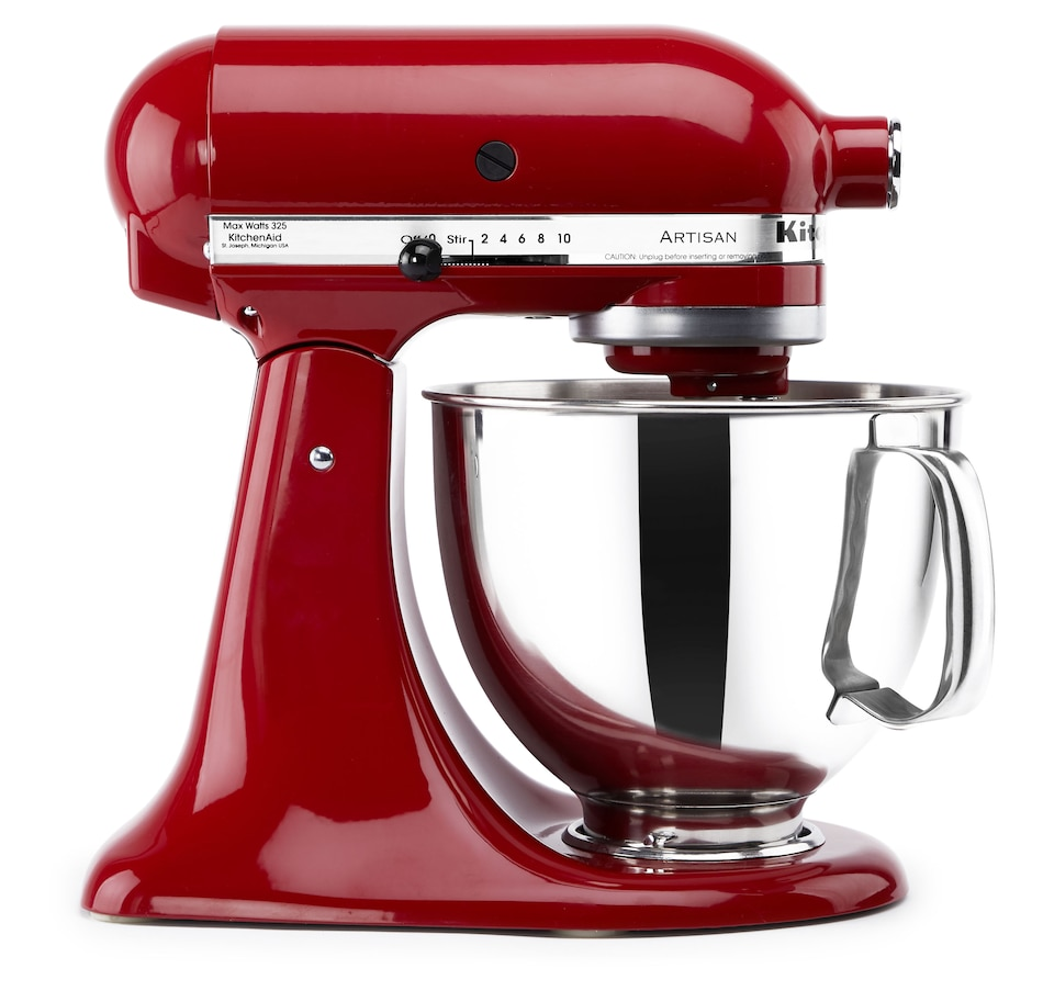 Image 554335_EMRD.jpg , Product 554-335 / Price $499.99 , KitchenAid 5-Quart Artisan Stand Mixer from KitchenAid on TSC.ca's Kitchen department