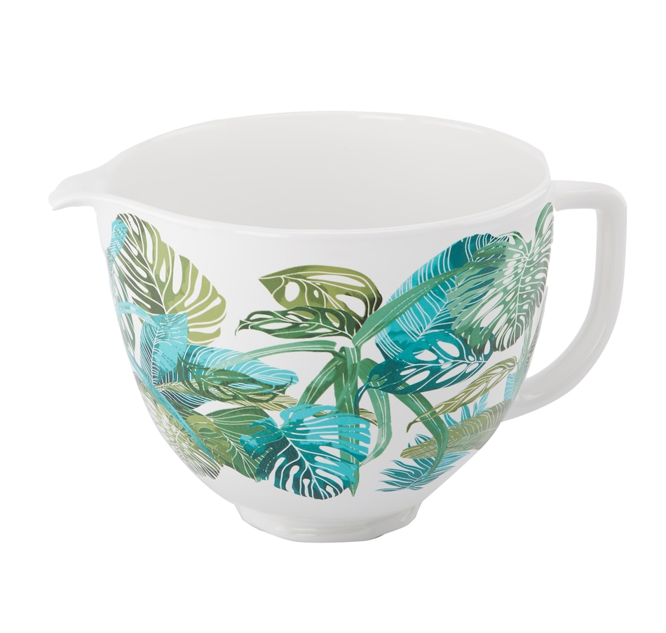Image 554351.jpg , Product 554-351 / Price $74.99 , KitchenAid 5-Quart Tropical Floral Ceramic Bowl from KitchenAid on TSC.ca's Kitchen department