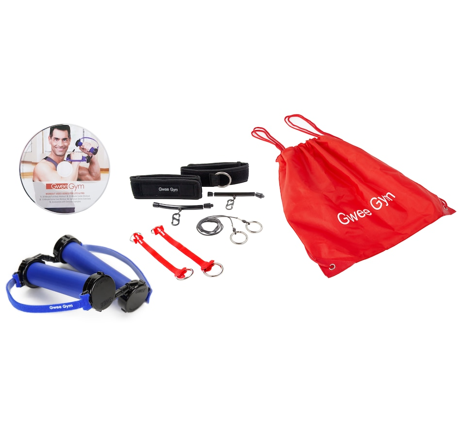 Image 554428.jpg , Product 554-428 / Price $82.99 , Gwee Gym Total Body Deluxe Exercise Kit with DVD  on TSC.ca's Health & Fitness department