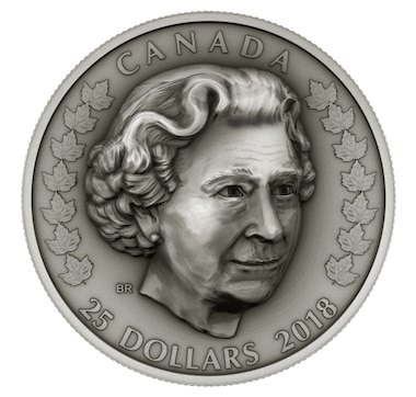 2018 $25 Fine Silver Coins Her Majesty Queen Elizabeth II: Matriarch of the Royal Family