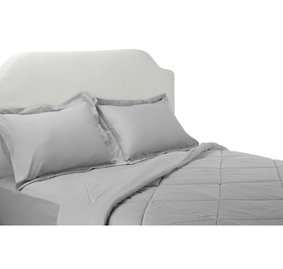 Image 554461_GRY.jpg , Product 554-461 / Price $39.33 - $59.33 , HomeSuite 800TC Cotton Rich 3-Piece Comforter Set from HomeSuite Collection on TSC.ca's Home & Garden department