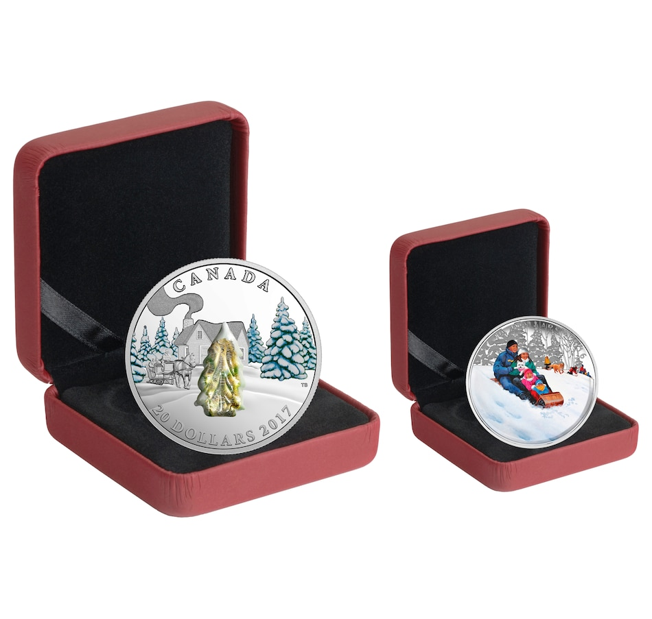 Image 554466_MTREE.jpg , Product 554-466 / Price $149.95 , Choice of Five $20 Fine Silver Murano Coins plus Bonuses from Royal Canadian Mint on TSC.ca's Coin department