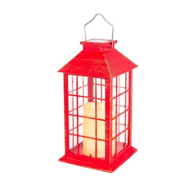 Lantern with Solar Candle (2-Pack)