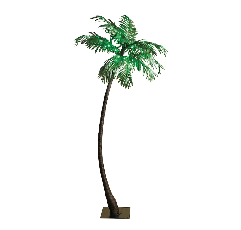 Image 554680.jpg , Product 554-680 / Price $39.33 , 5-Foot Lighted Palm Tree  on TSC.ca's Home & Garden department