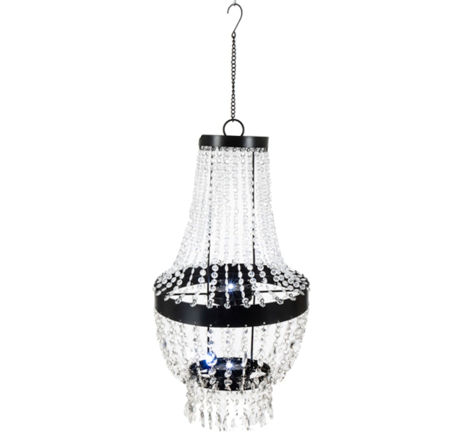 Image 554690.jpg , Product 554-690 / Price $39.33 , Solar Acrylic Beaded Chandelier  on TSC.ca's Home & Garden department