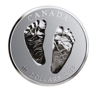 2019 $10 Welcome to the World Pure Silver Baby Coin