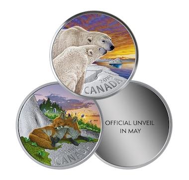 2019 $20 Fine Silver Coins Canadian Fauna - Three-Coin Subscription