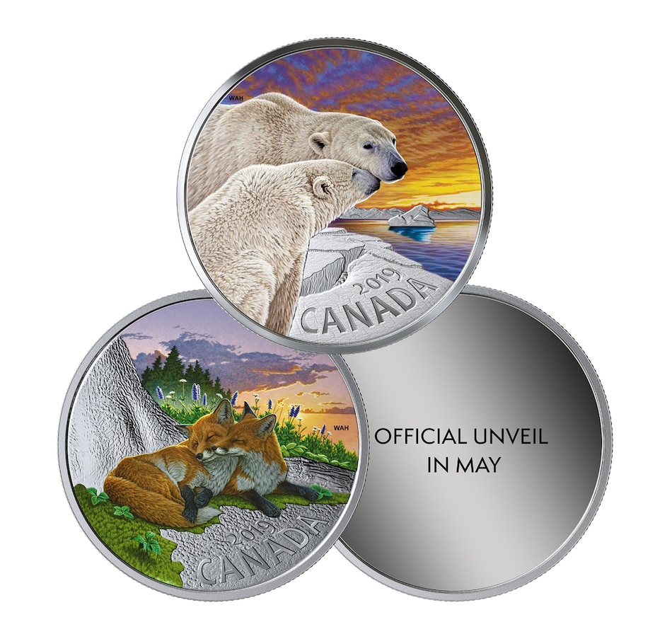 Image 554779.jpg , Product 554-779 / Price $99.95 , 2019 $20 Fine Silver Coins Canadian Fauna - Three-Coin Subscription from Royal Canadian Mint on TSC.ca's Coin department