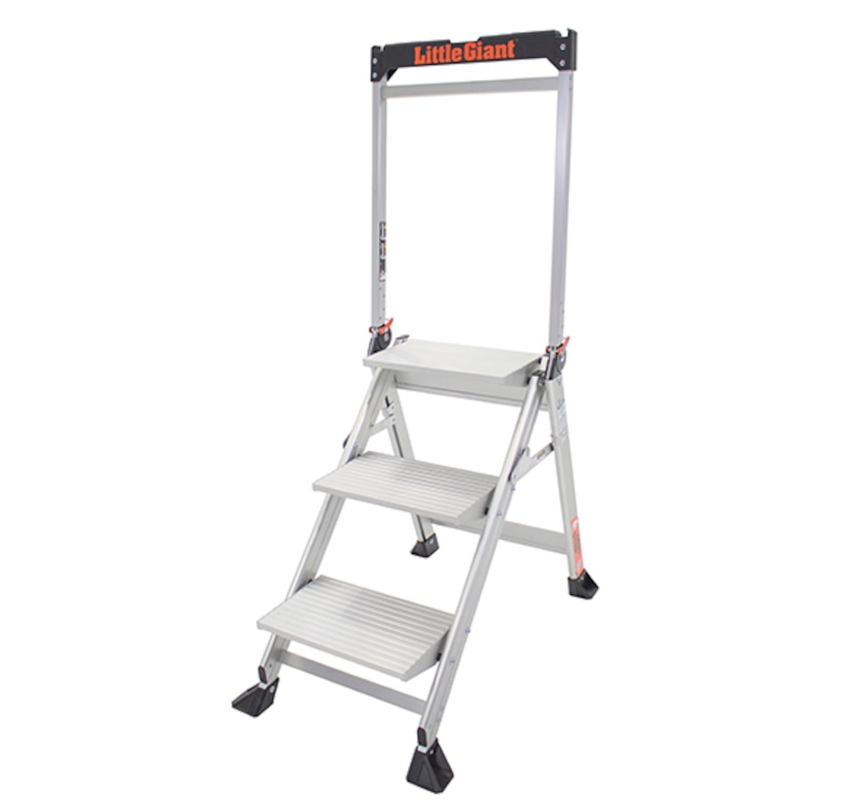 Image 555048.jpg , Product 555-048 / Price $149.99 , Little Giant Jumbo 3-Step Ladder from Little Giant Ladder on TSC.ca's Home & Garden department