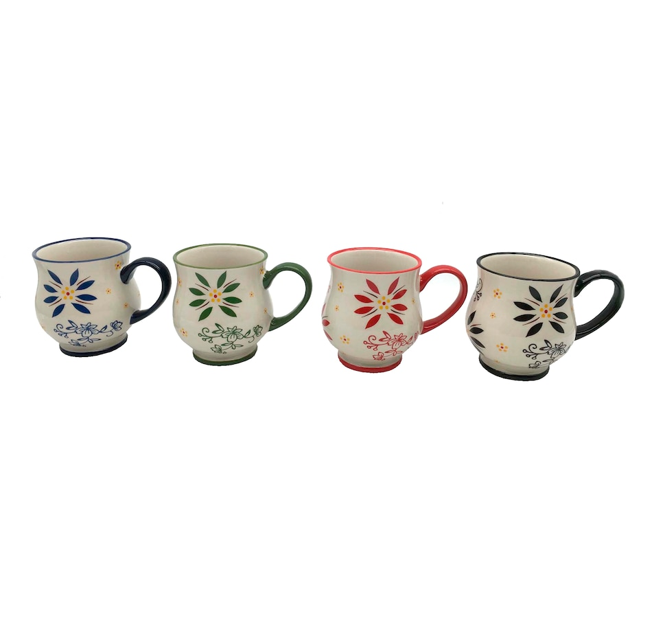 Image 555049_CLA.jpg , Product 555-049 / Price $29.99 , temp-tations Holiday Set of 4 Mug Gift Set from Temp-tations on TSC.ca's Kitchen department