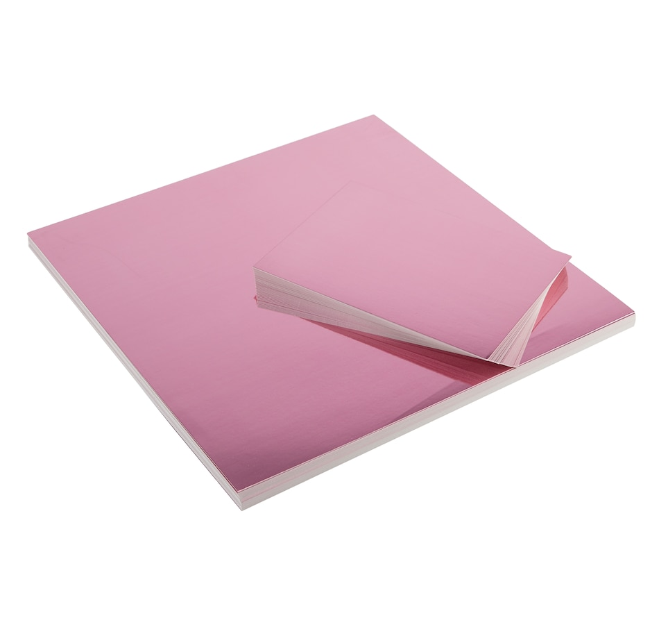 Image 555086.jpg , Product 555-086 / Price $41.99 , Anna Griffin Pink Pastel Foil Cardstock (Pink) from Anna Griffin on TSC.ca's Home & Garden department