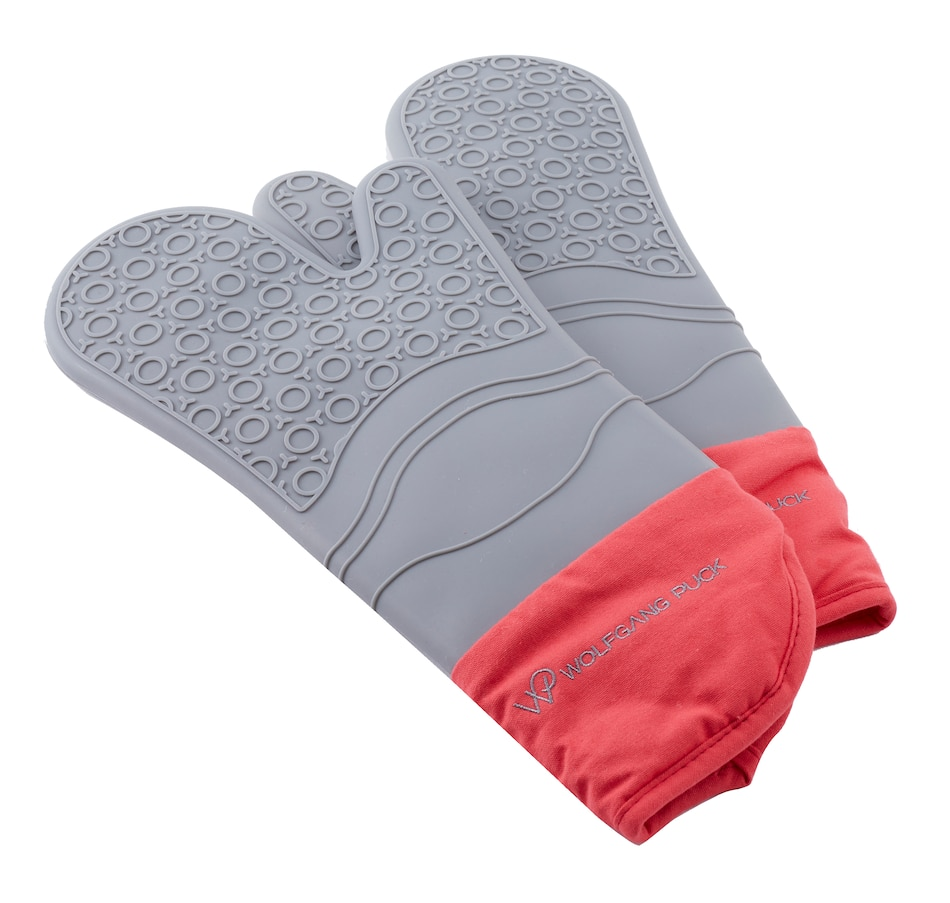 Image 555098_RED.jpg , Product 555-098 / Price $31.99 , Wolfgang Puck Silicone Mitt from Wolfgang Puck on TSC.ca's Kitchen department