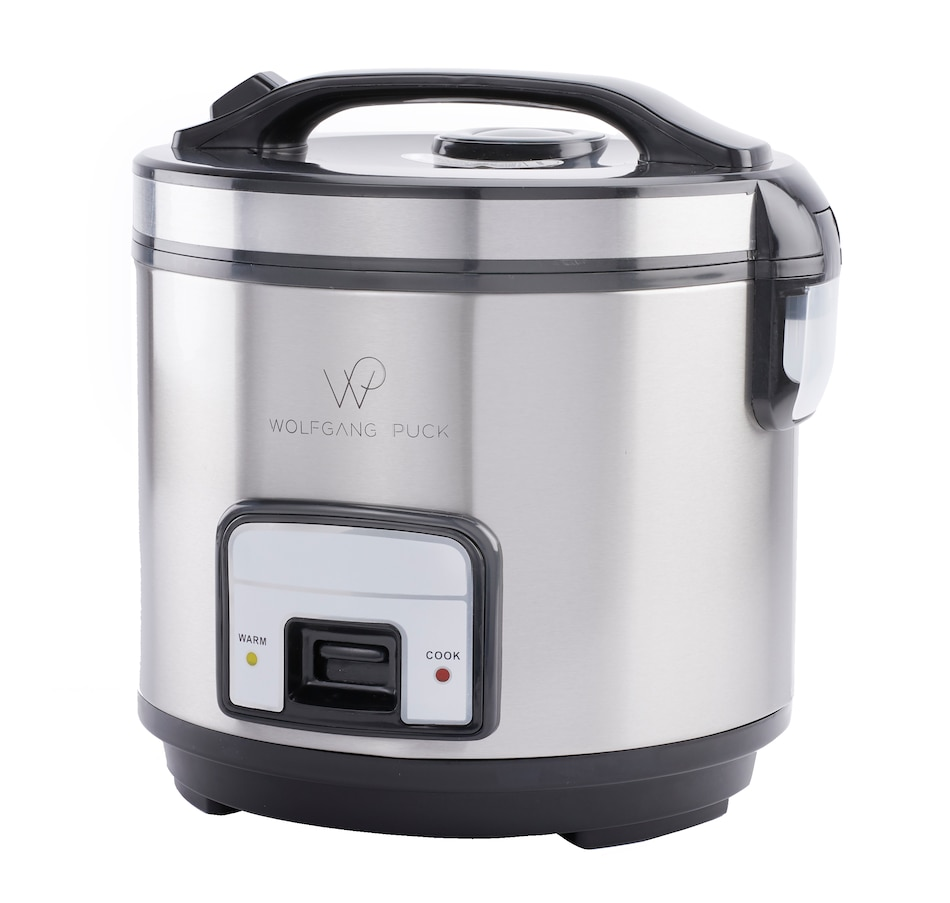 Image 555100.jpg , Product 555-100 / Price $57.99 , Wolfgang Puck 10-Cup Electric Rice Cooker & Steamer from Wolfgang Puck on TSC.ca's Kitchen department