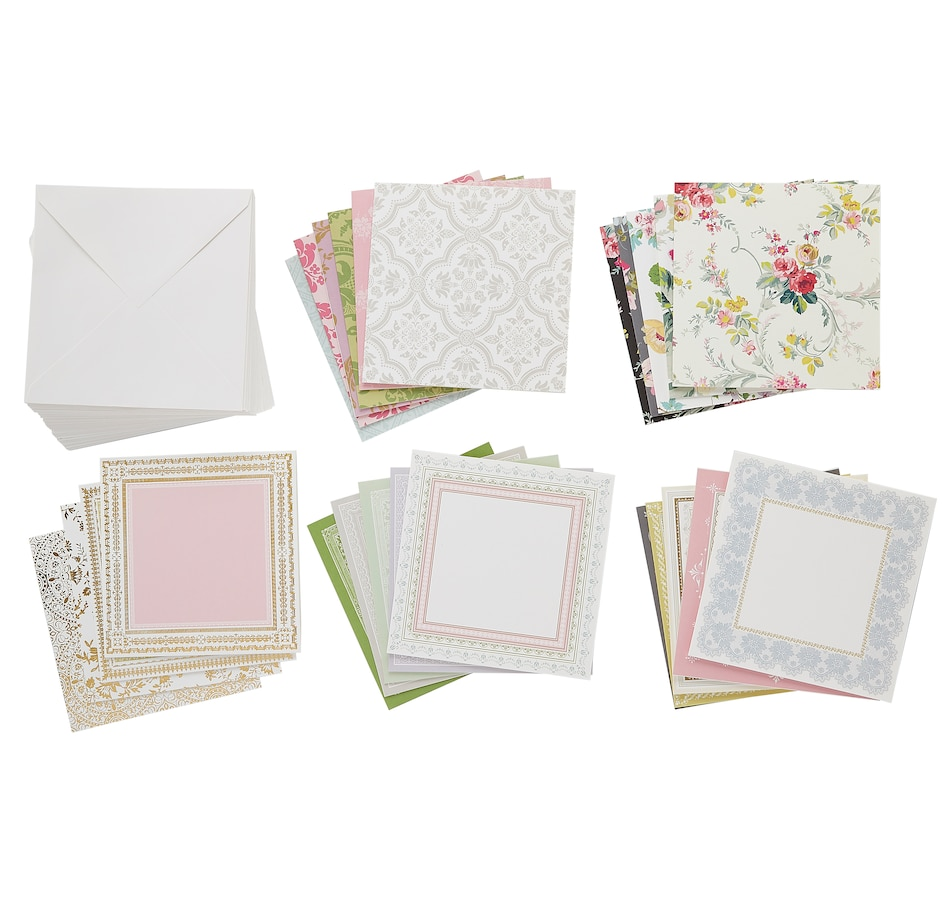 """Image 555115.jpg , Product 555-115 / Price $44.99 , Anna Griffin Perfect Pattern Card and Envelopes 6"""" x 6"""" from Anna Griffin on TSC.ca's Home & Garden department"""