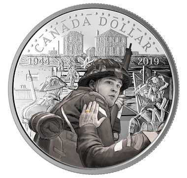 2019 Proof Set with D-Day Commemorative Silver Dollar