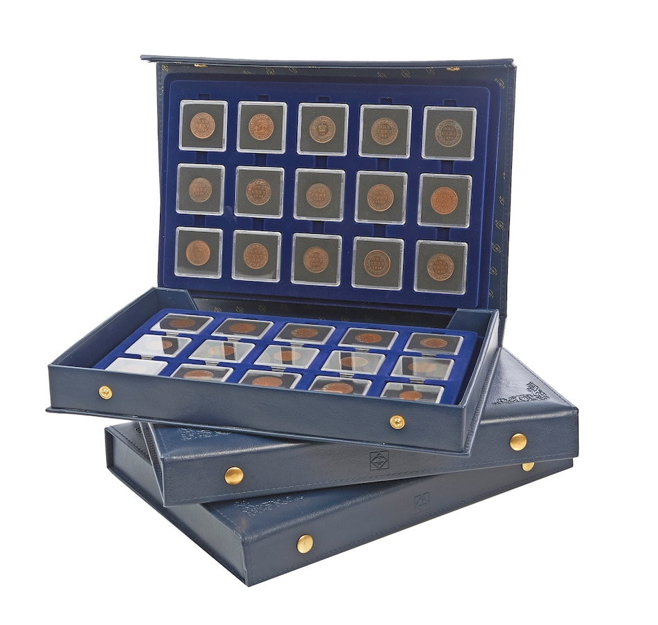 Image 555145.jpg , Product 555-145 / Price $389.95 , 119-Piece Cent Collection 1859-2012 plus Three Pre-confederation Coins from Canadian Coin & Currency on TSC.ca's Coins department