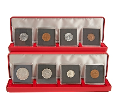 WWII-Era 8-Piece Coin Collection