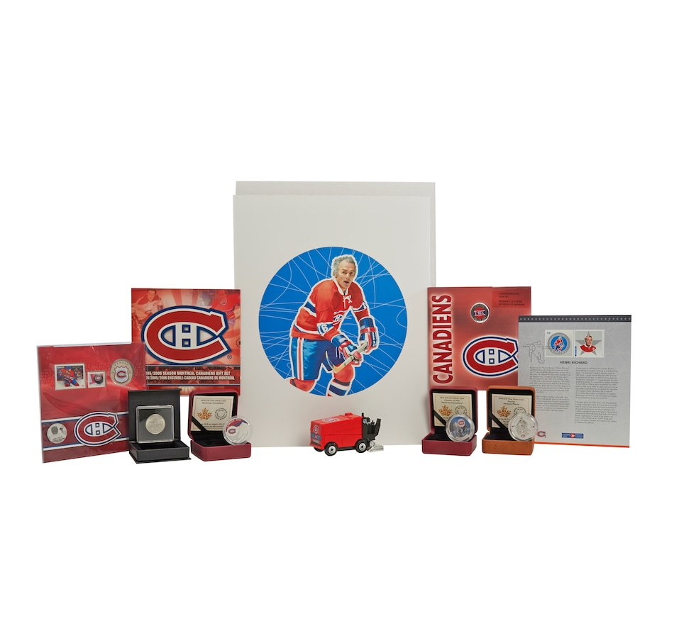 Image 555166.jpg , Product 555-166 / Price $255.65 , Montreal Canadiens Nine-Piece Collection from Royal Canadian Mint on TSC.ca's Coins department