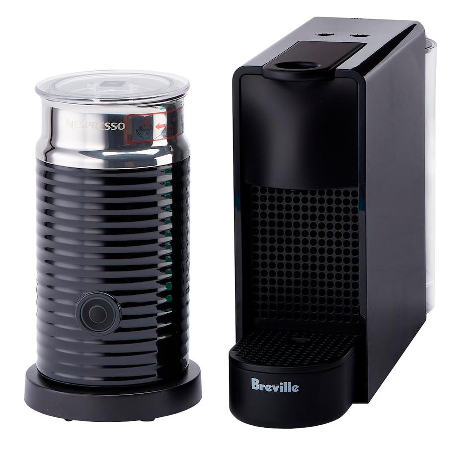 Image 555321_BLK.jpg , Product 555-321 / Price $169.00 , Nespresso Essenza Mini Machine by Breville with Aeroccino plus $25 Coffee Credit from Nespresso on TSC.ca's Kitchen department