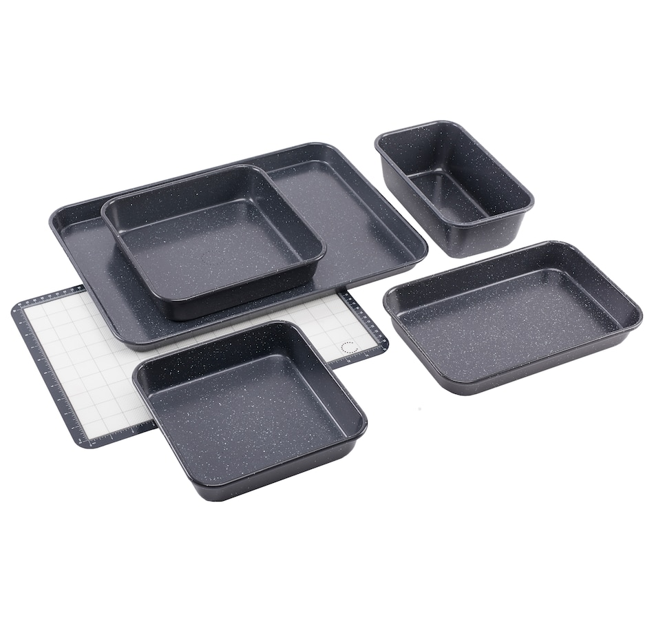 Image 555371_DGR.jpg , Product 555-371 / Price $69.99 , Curtis Stone 6-Piece Dura-Bake Bakeware Set from Curtis Stone on TSC.ca's Kitchen department