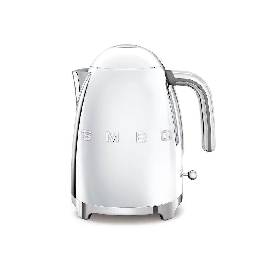 Image 555380_CME.jpg , Product 555-380 / Price $214.99 , SMEG Electric Fixed Temp Kettle with 3D Logo from Smeg on TSC.ca's Kitchen department