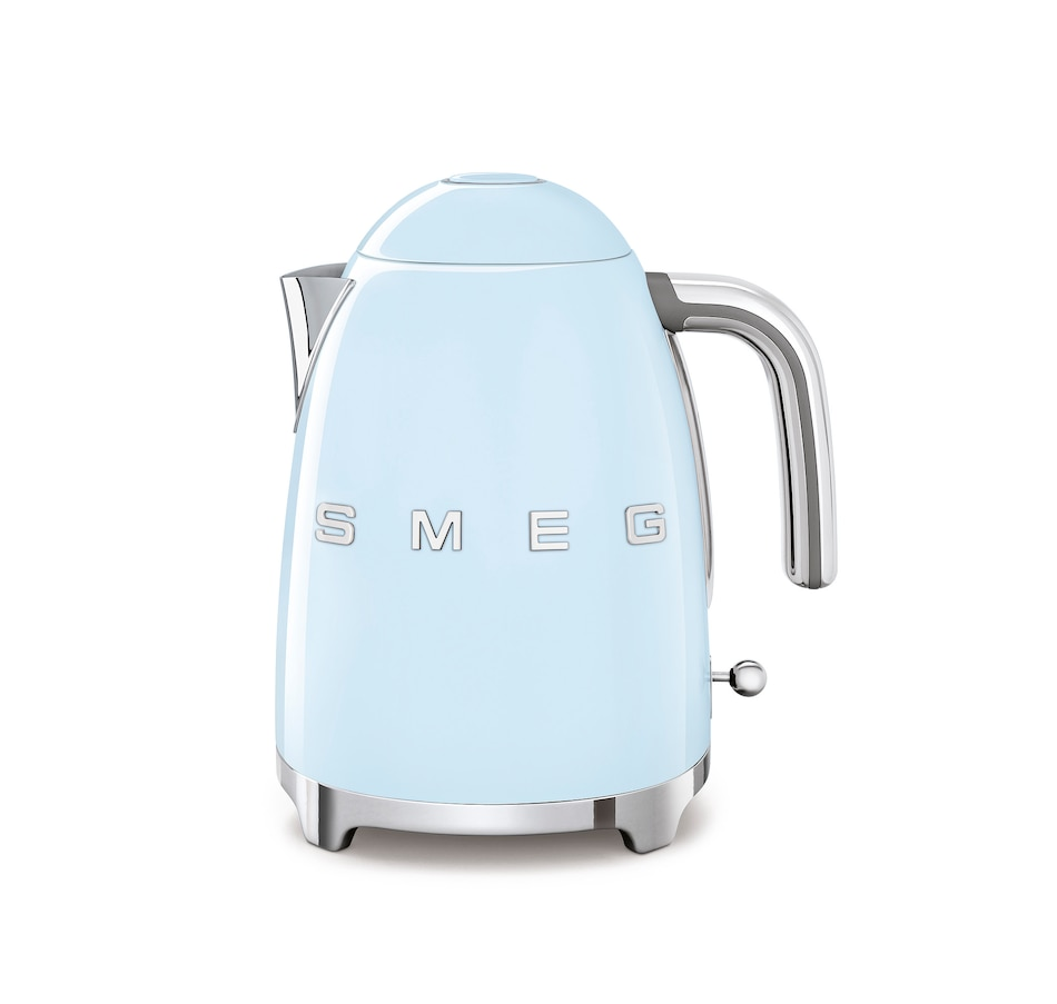 Image 555380_PASBE.jpg , Product 555-380 / Price $199.95 , SMEG Electric Fixed Temp Kettle with 3D Logo from Smeg on TSC.ca's Kitchen department