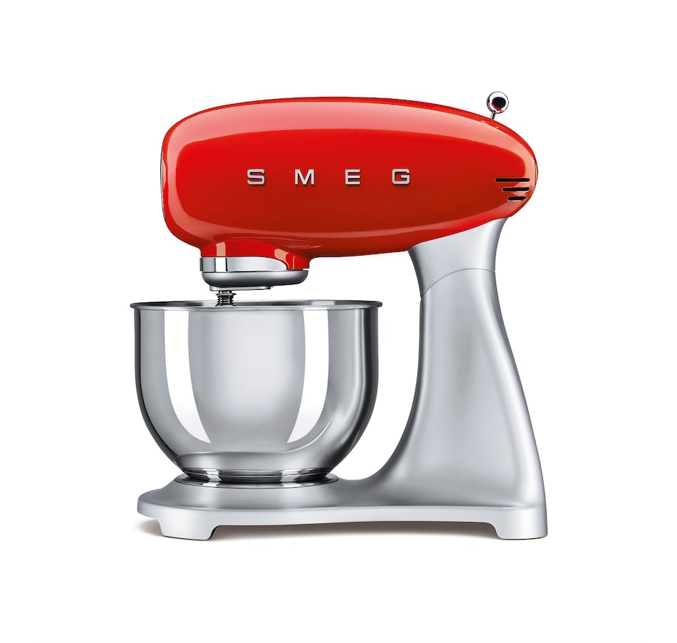 Image 555382_RED.jpg , Product 555-382 / Price $599.95 , SMEG '50s Retro Style 600W Stand Mixer from Smeg on TSC.ca's Kitchen department