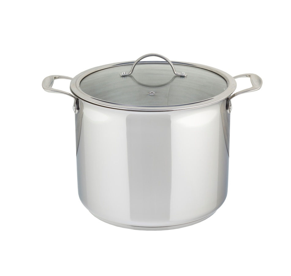 Image 555391.jpg , Product 555-391 / Price $199.99 , Meyer Chef Michael Smith 14L Stock Pot with Lid from Chef Michael Smith on TSC.ca's Kitchen department