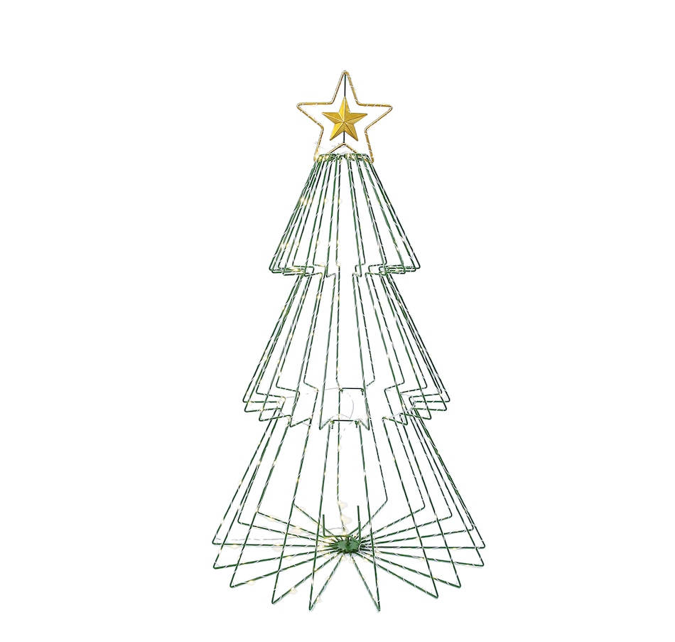 "Image 555494.jpg , Product 555-494 / Price $69.99 , Holiday Memories 41"" Collapsible Outdoor Lighted Tree from Holiday Memories on TSC.ca's Home & Garden department"